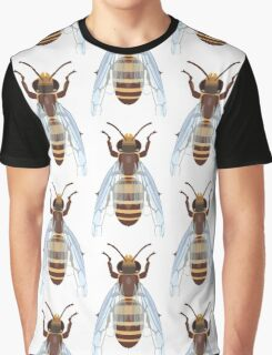 European Honeybee Graphic T-Shirt
