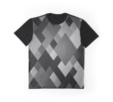 Crate & Pickle - Grey Diamonds Graphic T-Shirt