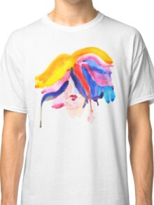 watercolor girl Classic T-Shirt
