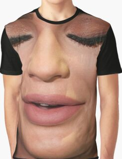 kylie jenner face Graphic T-Shirt