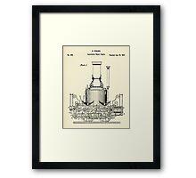 Locomotive Steam Engine-1837 Framed Print