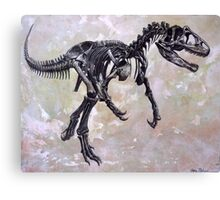 Allosaurus fragilis skeleton Canvas Print