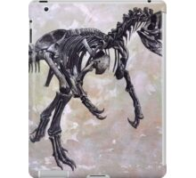 Allosaurus fragilis skeleton iPad Case/Skin
