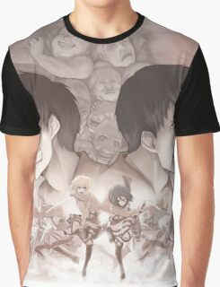 Shingeki No Kyojin Graphic T-Shirt
