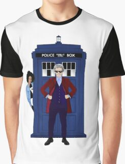 The Doctor and Bill Graphic T-Shirt