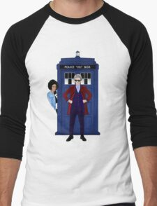 The Doctor and Bill Men's Baseball ¾ T-Shirt