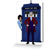 The Doctor and Bill Greeting Card