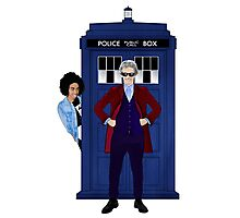 The Doctor and Bill Photographic Print