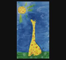 a dreaming giraffe Baby Tee