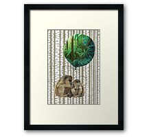 Balloon Monkey dream Framed Print