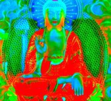 Colorful  Buddha Sticker