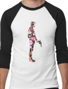 Han Foloral Men's Baseball ¾ T-Shirt