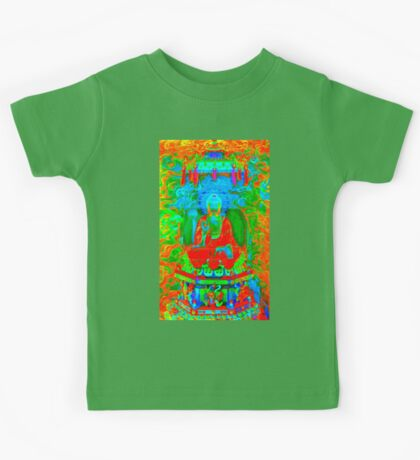 Colorful  Buddha Kids Tee