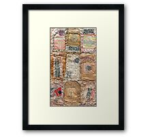 Tea Bag Typology 14 Framed Print