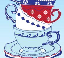 Time for Tea (square) Sticker