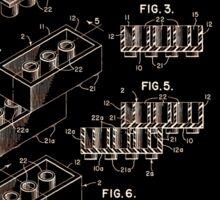 Lego Patent 1961 Sticker