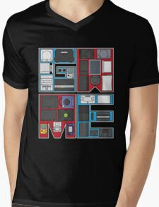 history of video games Mens V-Neck T-Shirt
