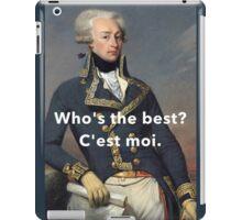 America's Favorite Fighting Frenchman iPad Case/Skin