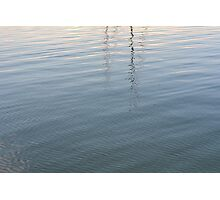 Ripples in the water. Photographic Print
