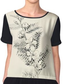 Southern wild flowers and trees together with shrubs vines Alice Lounsberry 1901 078 Large Sensetive Plant Chiffon Top