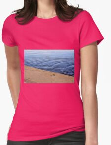 Ripples in the water. Womens Fitted T-Shirt