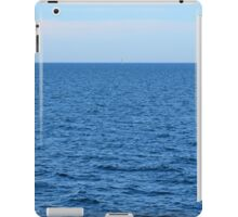 Calm blue sea and clear sky. iPad Case/Skin