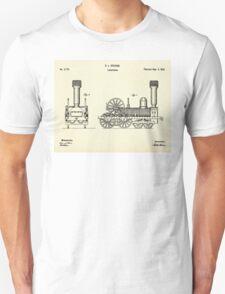 Locomotive-1842 Unisex T-Shirt