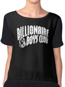 Billionaire Boys Club White Chiffon Top