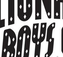 Billionaire Boys Club White Sticker