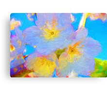 Magical Blossoms Canvas Print