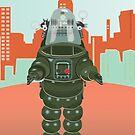 Sci Fi Robot by Carolynne
