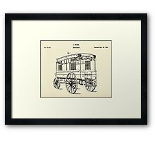 Ambulance-1858 Framed Print