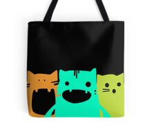 Krazy Cats Tote Bag