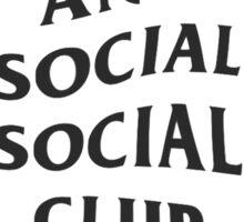 Anti Social Social Club Original Sticker