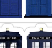 Doctor Who - The TARDIS Sticker