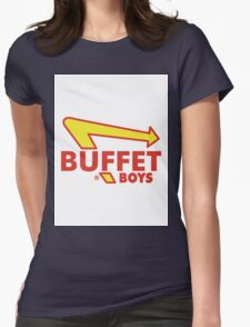 Buffet Boys  Womens Fitted T-Shirt