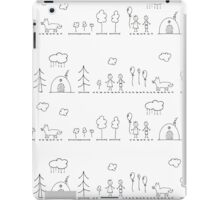 Doodle pattern iPad Case/Skin