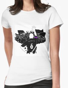 A father's resolution Womens Fitted T-Shirt