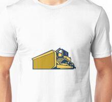 Bulldozer Low Angle Retro Unisex T-Shirt