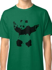 Banksy - Panda With Guns Classic T-Shirt