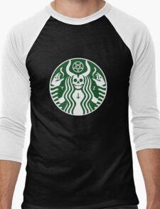 Devil's Coffee Men's Baseball ¾ T-Shirt