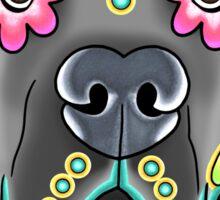 Great Dane - Floppy Ear Edition - Day of the Dead Sugar Skull Dog Sticker