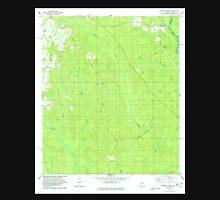 USGS TOPO Map Alabama AL Dogwood Creek 303686 1978 24000 Unisex T-Shirt