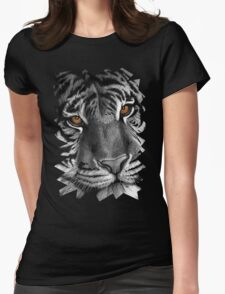 Siberian Tiger Womens Fitted T-Shirt