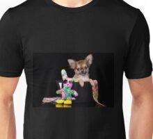 Glamorous chihuahua puppy dog cute Unisex T-Shirt