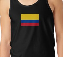 Colombia World Cup Flag Futbol Colombian T-Shirt Duvet Sticker Tank Top