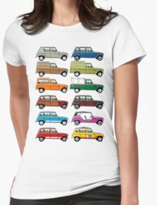 Renault 4 Womens Fitted T-Shirt