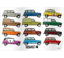 Renault 4 Poster