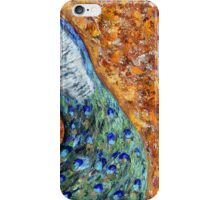 In the month of June the peacock danced iPhone Case/Skin