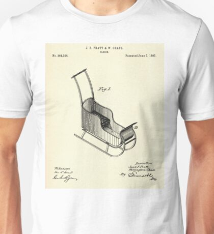 Sleigh-1887 Unisex T-Shirt